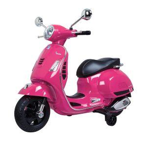 Vespa Scooter eléctrico para niños GTS rosa