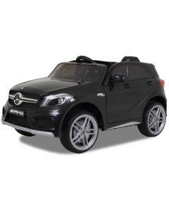 Mercedes coche eléctrico para niños A45 negro