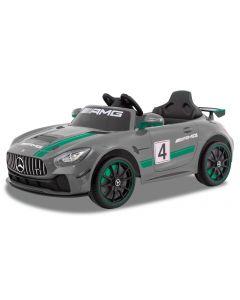 Mercedes coche eléctrico para niños GT4 gris
