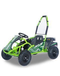 Kijana buggy 98cc motor 4 tiempos Outlaw verde