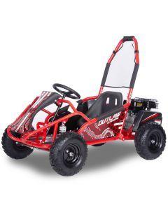 Kijana Outlaw buggy 98cc motor 4 tiempos Outlaw rojo