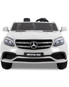 Mercedes coche eléctrico para niños GLS AMG blanco