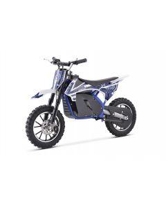 Kijana moto de tierra para niños outlaw 49cc azul