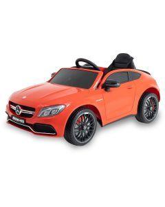 Mercedes coche eléctrico para niños C63 AMG rojo