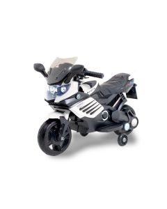 Kijana motocicleta eléctrica para niños superbike negra blanca