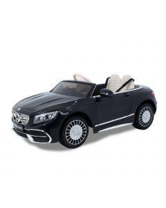 Mercedes coche eléctrico para niños Maybach S650 cabrio negro