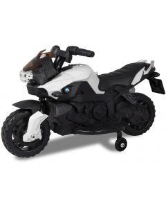 Kijana motocicleta eléctrica para niños 6V blanco