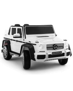 Mercedes coche eléctrico para niños Maybach G650 blanco