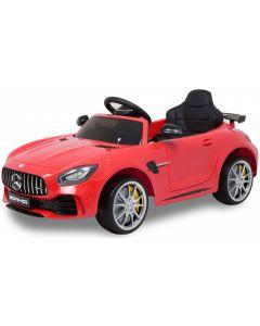 Mercedes coche eléctrico para niños GTR AMG rojo