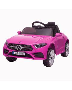 Mercedes coche eléctrico para niños CLS350 rosa