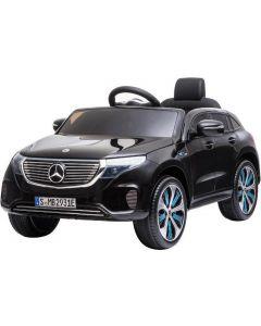 Mercedes coche eléctrico para niños EQC negro