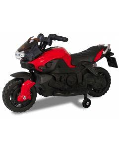 Kijana motocicleta eléctrica para niños rojo