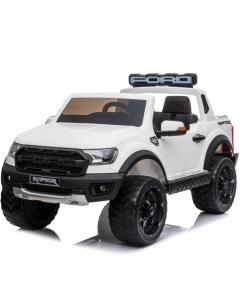 Ford coche eléctrico para niños Raptor blanco