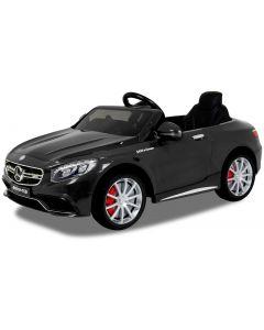 Mercedes coche eléctrico para niños S63 AMG negro