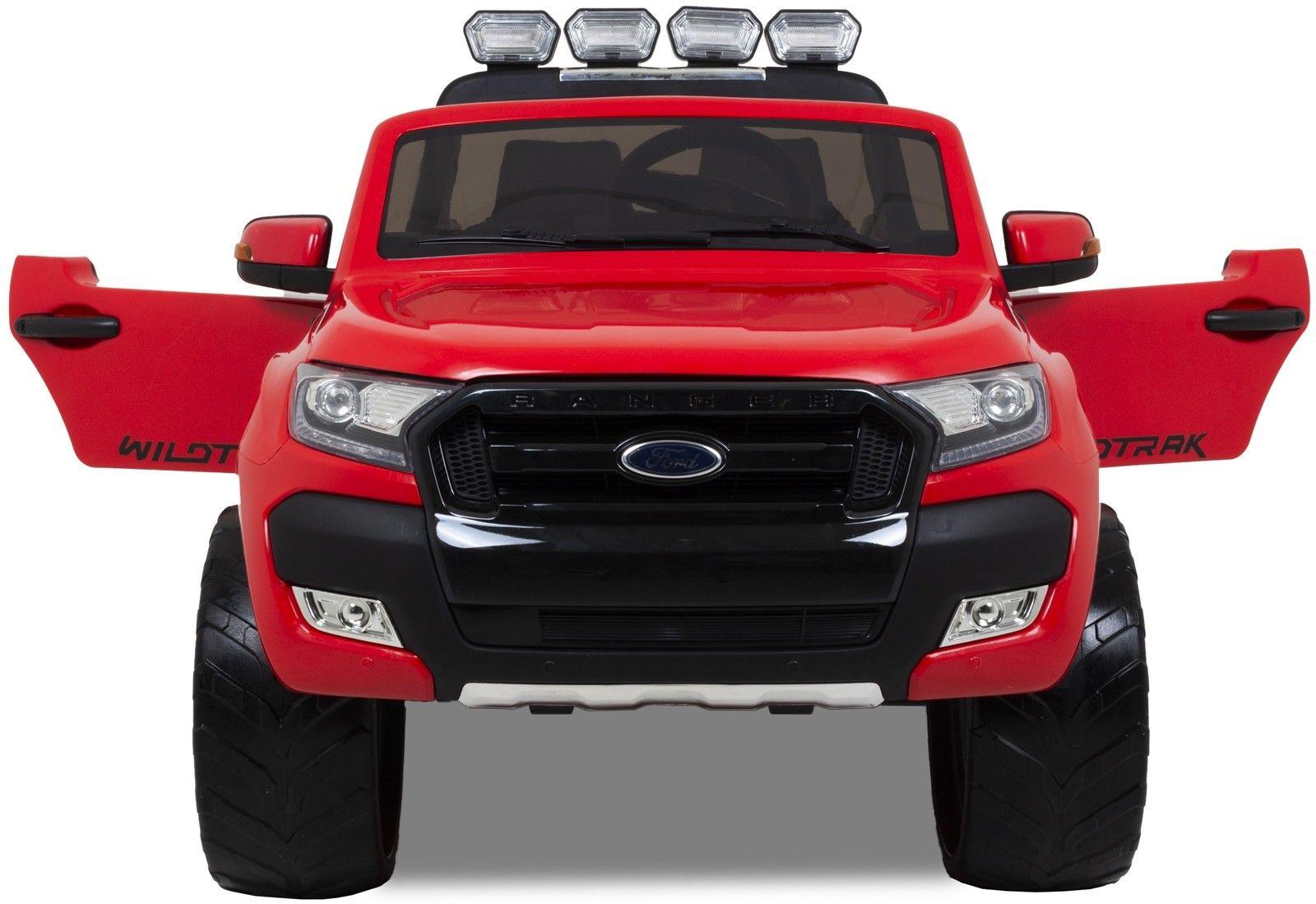 Image of Ford Ranger para niños rojo