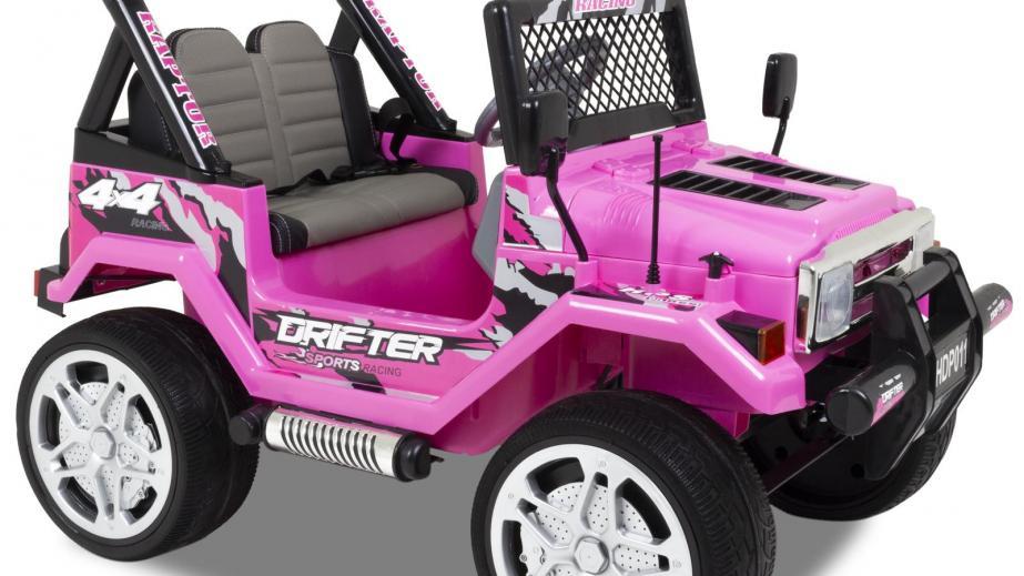Instalación de coche eléctrico para niños